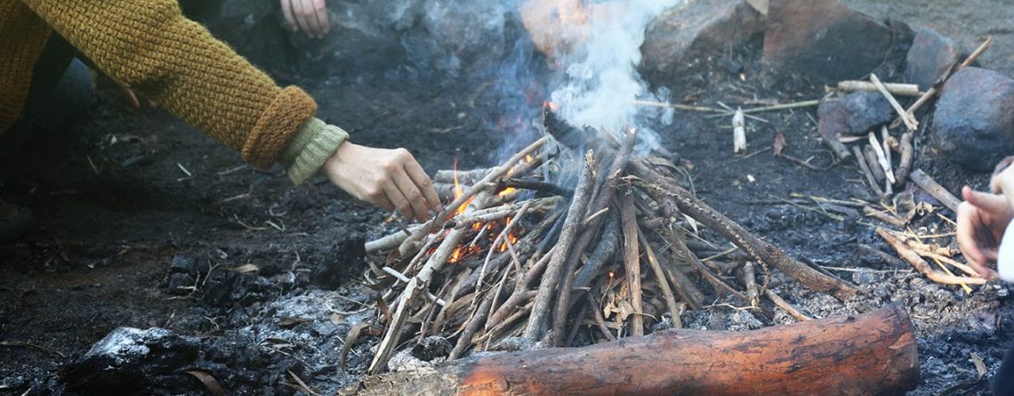 Bushcraft 101 for Teens – with Andy Currey