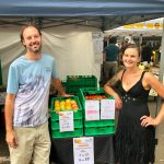 Veganic Farmers at NSCF markets