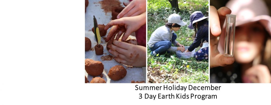 Summer School Holiday Earth Kids Program
