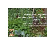 August 2019 Permaculture Design Course at Northey Street City Farm