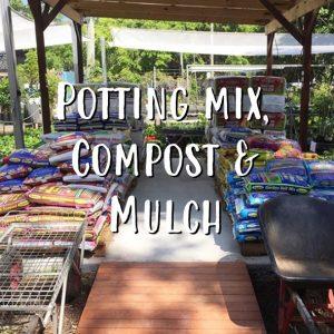 Potting Mix, Compost & Mulch