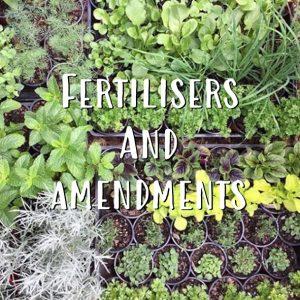 Fertilisers and Amendments